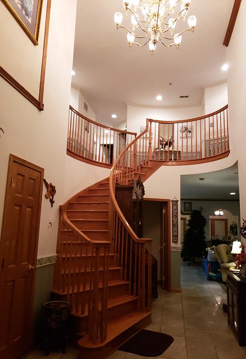 Custom Home - Full Foyer